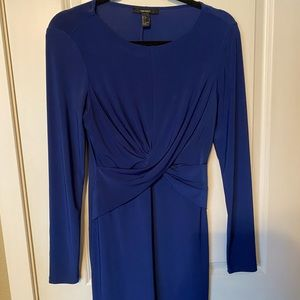 Forever 21 knot long sleeve bodycon dress